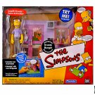 Simpsons Krusty Burger Playset Playmates WOS Environment + Pimply Faced Teen