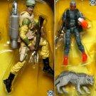 G.I.Joe Sgt. Stalker, Snake Eyes Timber Set 25th DVD Battles 1 of 5 MASS Device GI Joe ARAH vs Cobra