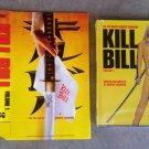 Kill Bill Vol. 1 2 DVD Promo Slipcover Jacket Tarantino Volume 1 Exclusive Book Case Black Mamba