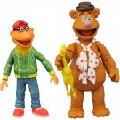 Fozzie/Scooter Disney Muppets 2016 Diamond Select Gentle Giant Collectable Action Figures Set