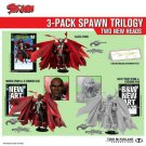 Spawn 3-Pack Trilogy Gold Autograph 2020 Kickstarter EX Todd McFarlane Signed Classic Remastered Set