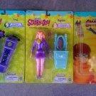 "8"" Scooby-Doo Set Daphne Velma Fred Cartoon Network Classics 1 2 3 WB (1999-2001) Casey Kasem"