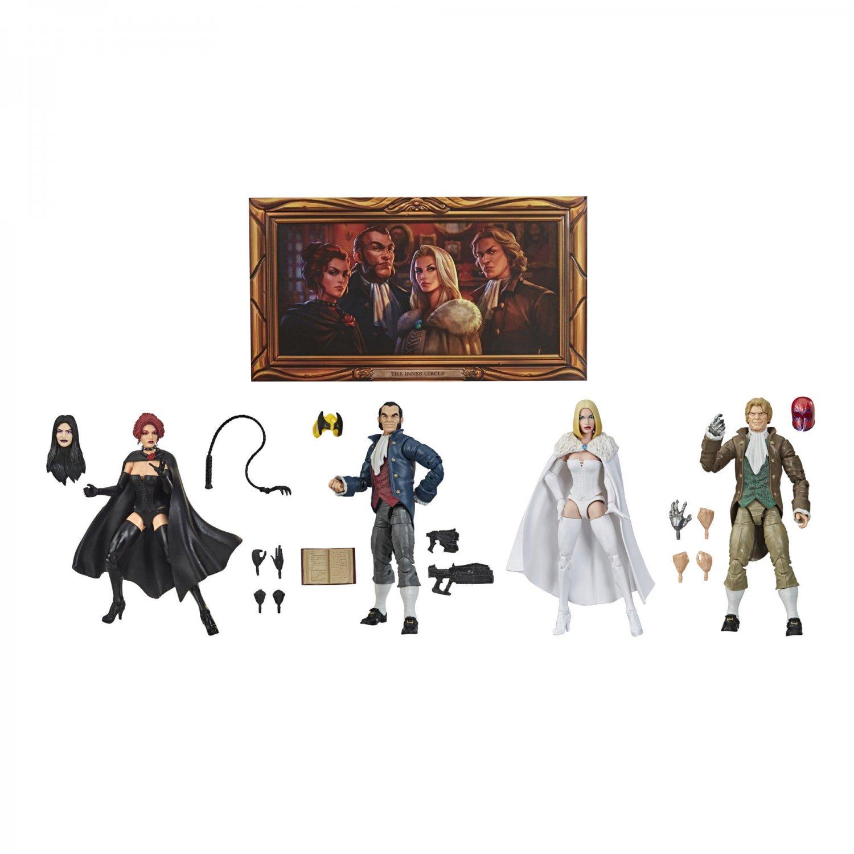 X-Men Marvel Legends Hellfire Club SDCC Hasbro Pulse Con Phoenix Jean Grey White Queen Emma Frost
