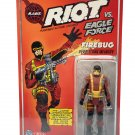 "Eagle Force 4"" Zica Toys Remco RIOT Firebug Pyrotechnic Infantry 1:18 Action Force 3.75 GI Joe"