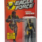 "Eagle Force 4"" General Brown Zica Toys Remco 1:18 Action Force 3.75 GI Joe"