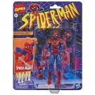 "Spider-Man Marvel Legends Retro Vintage 6"" Collection: Spiderman Super Poseable Action Figure"