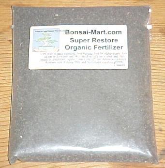 Super Restore Organic Bonsai Fertilizer
