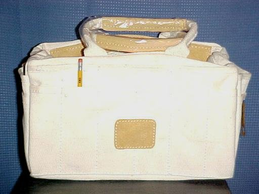 24 Pocket Leather Trimmed Bonsai Tool Bag