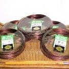 6 Bonsai Training Wire Rolls---100 grams each.