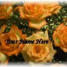 Ebay Store Logo Orange Flower Bouquet Dress Up your Ebay Store Add your Store Name!!