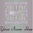 Ebay Store Logo Pink Green Cross Dress Up your Ebay Store Add your Store Name!!