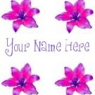 Ecrater Store Logo & HomePage Image Pink Lilies Lily flower Dress Up your Ecrater Store!!