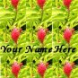Ecrater Store Logo & HomePage Image Pink Green Hawaiian Flower Dress Up your Ecrater Store!!