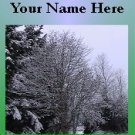 Ecrater Store Logo & HomePage Image Tree Snow Winter Green Dress Up your Ecrater Store!!
