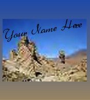 Ecrater Store Logo & HomePage Image Desert Rock Formation Dress Up your Ecrater Store!!