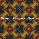 Neoloch.com Store Banner and Logo Combo Maroon Blue Red Quilt Pattern Add your Store Name!