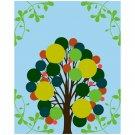 Popping Foliage - 8x10 Print