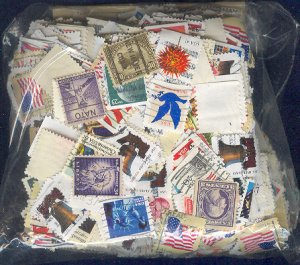 A LARGE U.S. STAMP MIXTURE