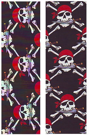 PIRATE Ceiling Fan Blades Only for 42 inch ceiling fans Kids Children