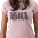 PRINCESS PRICELESS Barcode Design Kids  T-Shirt size youth lg