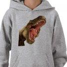 DINOSAUR Design Kids Hooded Sweatshirt Hoodie size youth lg