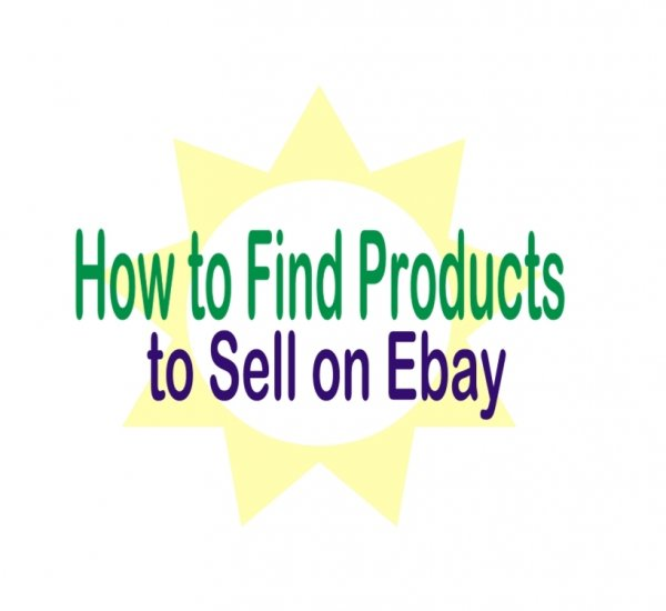How to Find Products to Sell on Ebay epage