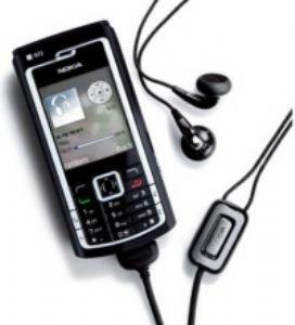 Nokia N72 Black Unlocked Gsm Phone