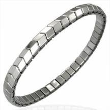 Stretchable Stainless Steel Bracelet