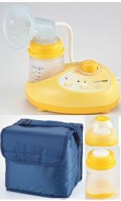 Safety Plus� Portable Single Electric Breast Pump, RM 429