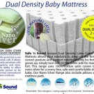 Dual Density Baby Safety Mattress with Nano Silver Cotton Cover, RM 499