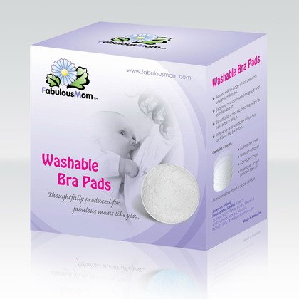 Washable Bra Pads- White (6 pieces)RM29.90