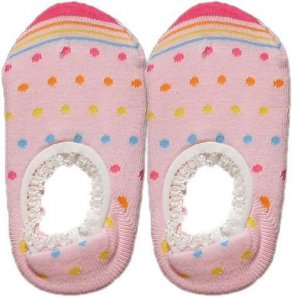 Japan Baby Low-cut Anti-Slip Socks - Pink Dots, RM 12/pair