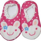 Japan Baby Low-cut Anti-Slip Socks - Pink Rabbit, RM 12/pair