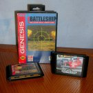 Super Battleship and Super Monaco GP Sega Genesis Video Games. ORIGINAL SEGA GENESIS GAMES!!!