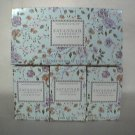 Crabtree Evelyn Savannah Gardens Bath Soap  Gift Box  3 x 3.5 oz bars.  Rare, discontinued