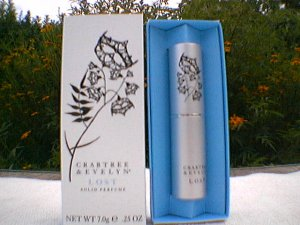 Crabtree Evelyn Solid Perfume traveller X2 LOST roll-on EDP Ginger Orange Blossom
