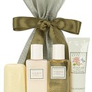 Crabtree Evelyn Summer Hill  Mayfair Drawstring gift Bath Shower Hands Body Lotion  Traveler FS