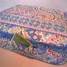 Vera Bradley Little Travel Case Capri Blue game craft diaper reader tablet case tote  NWT Retired