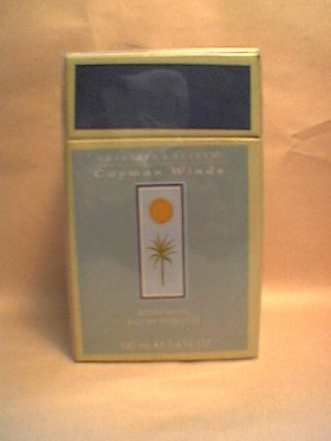 Crabtree Evelyn Cayman Winds EDT  Eau de Toilette  3.4 oz / 100 ml  Rare Discontinued unisex