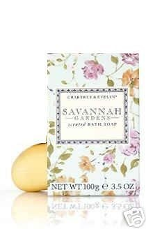 Crabtree Evelyn single Bath Soap Savannah Gardens FS � 3.5 oz  DISC Rare