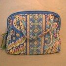 Vera Bradley Purse Cosmetic Capri Blue travel bag makeup case • NWT Retired