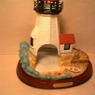 Partylite Plymouth Light Lighthouse tealight holder MIB Retired 1st in Series