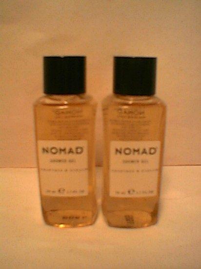 Crabtree Evelyn Nomad Shower Gel X2 Travel size   1.7 oz x 2 Mens  FS
