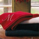 Martha Stewart by Mail - Lamb's Wool Throw - new in bag - Elgin Mills Scotland - Ivory