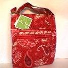 Vera Bradley Hipster Mesa Red crossbody purse handbag  NWT Retired VHTF orig version