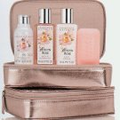 Crabtree & Evelyn Holland Park Cosmetic in original Evelyn Rose -  Traveler GIFT