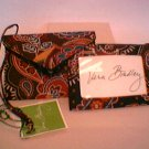 Set/2 Vera Bradley  Luggage Tag Kensington  NWT  ID Case Business card holder