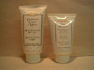 Perlier Honey Exfoliating Body Gel  + Smoothing Hand Cream FS Italian Bath & Body IBB