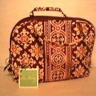 Vera Bradley Medallion Purse Cosmetic - makeup bag travel cosmetic tech case  NWT Retired
