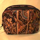 Vera Bradley Purse Cosmetic bag Kensington  makeup travel case Retired NWT